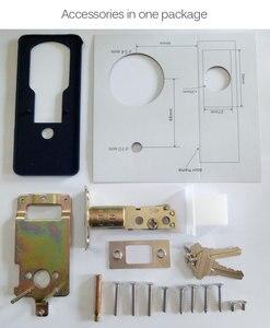 Image 5 - Wifi Elektronische Türschloss, Smart Bluetooth Digitale APP Tastatur Code Tastatur Türschloss, passwort Keyless Tür Safe Lock Elektronische