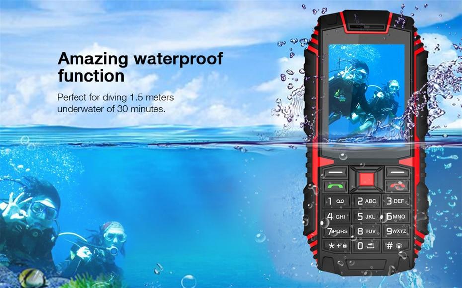 Ioutdoor Telefon 2.4'' 2G 8