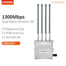 Comfast 1300 Мбит/с Dual band 2,4 и 5,8 Г Открытый беспроводной AP гигабит Wi-Fi маршрутизатор 4 Внешний телевизионные антенны база станции CF-WA800-V3