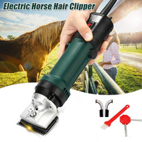 new 4 Plug Electric Horse Sheep Clipper 690W Equine Animals Shearing Machine Trimmer Shaver Clipper Hair Grooming