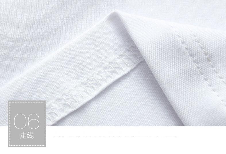 2017 Autumn new high-end men's brand t-shirt fashion Slim Dragon printing atmosphere t shirt Plus size long-sleeved t shirt men 13