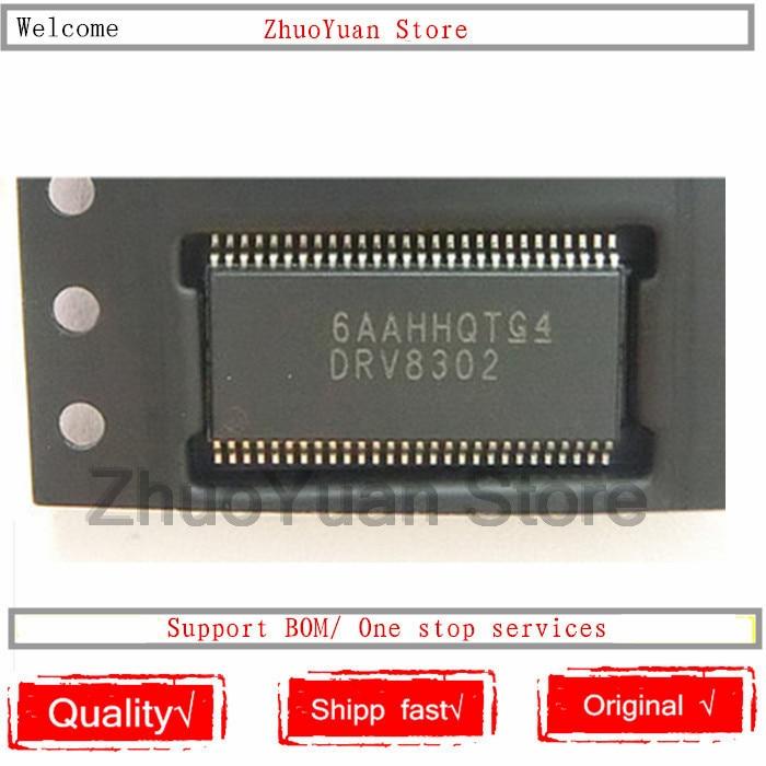 1PCS/lot DRV8302 DRV8302DCAR HTSSOP56 IC Chip New Original