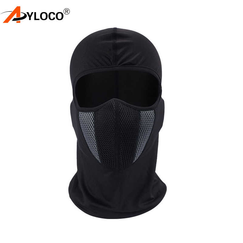Балаклава мотоциклетная маска для лица мотоциклетный шлем бандана-капюшон Лыжная шея полная Ветрозащитная маска Пылезащитная защита для лица