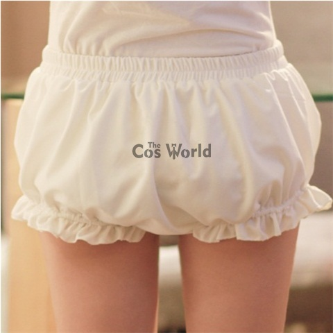 Lolita Sweet Bloomers Underwear Leggings Safety Pants Shorts Cosplay Costumes Karachi