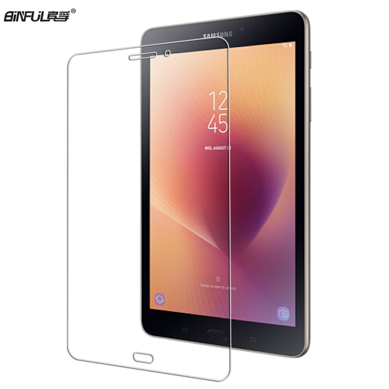 BINFUL 0.3mm 9H Tempered Glass Screen Protective For Samsung Galaxy Tab A 8.0 A2S T380 T385 2017 Protector Film SM-T380 SM-T385