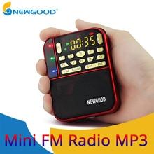 Mini Fm Pocket Stereo Radio Portable Micro Sd Radios Fashion Band Speaker Tf Usb Mp3 Speakers Fm Receiver Receivers Loudspeaker