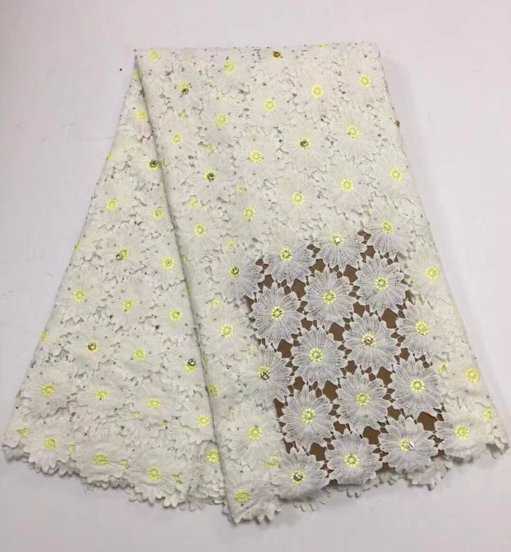 Guipure lace fabric 2018 high quality African cord lace fabric Nigerian multi color guipure lace fabric embroideredGuipure lace fabric 2018 high quality African cord lace fabric Nigerian multi color guipure lace fabric embroidered