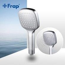 Frap Su tasarrufu Kare duş başlığı ABS plastik el tutma banyo duş Banyo Aksesuarları F003