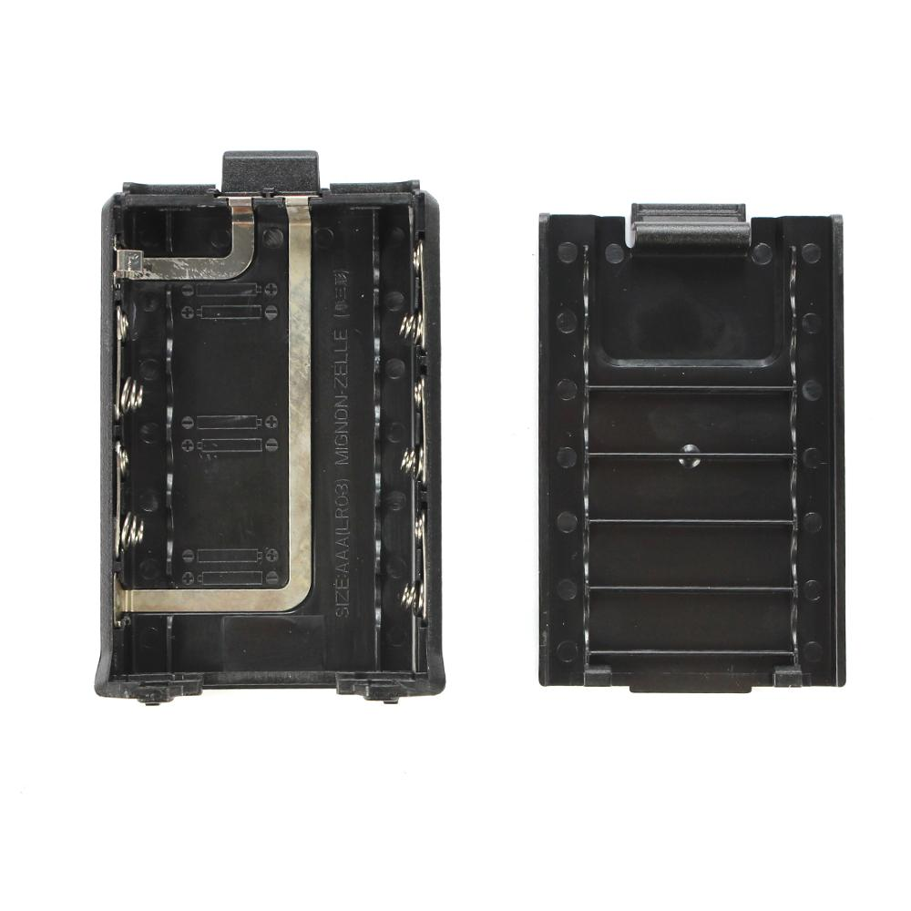 Battery Case Shell Box For Baofeng BF-UV5R BF-H8  UV5R TYT TH-F8 Walkie Talkie Two Way Radio Accessories