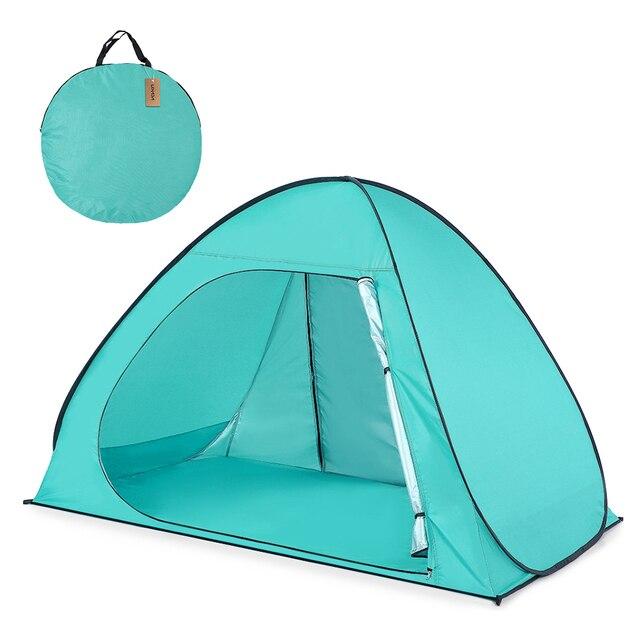 Lixada Automatic Beach Tent Outdoor C&ing Tent UPF50+ UV Protection Pop Up Tent Sun Shelter Cabana 2-3 Person Sunshelter  sc 1 st  AliExpress & Lixada Automatic Beach Tent Outdoor Camping Tent UPF50+ UV ...
