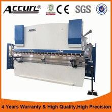 Factory price stainless steel press brake DA41 control system sheet metal hydraulic press brake bending machine