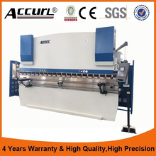 Factory price stainless steel press brake DA41 control system sheet metal hydraulic press brake bending machine