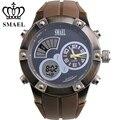 Fashion Men Casual Watch Sport Waterproof Dual Time Display Wristwatch LED Digital Quartz Watch Big relogios masculino WS1042