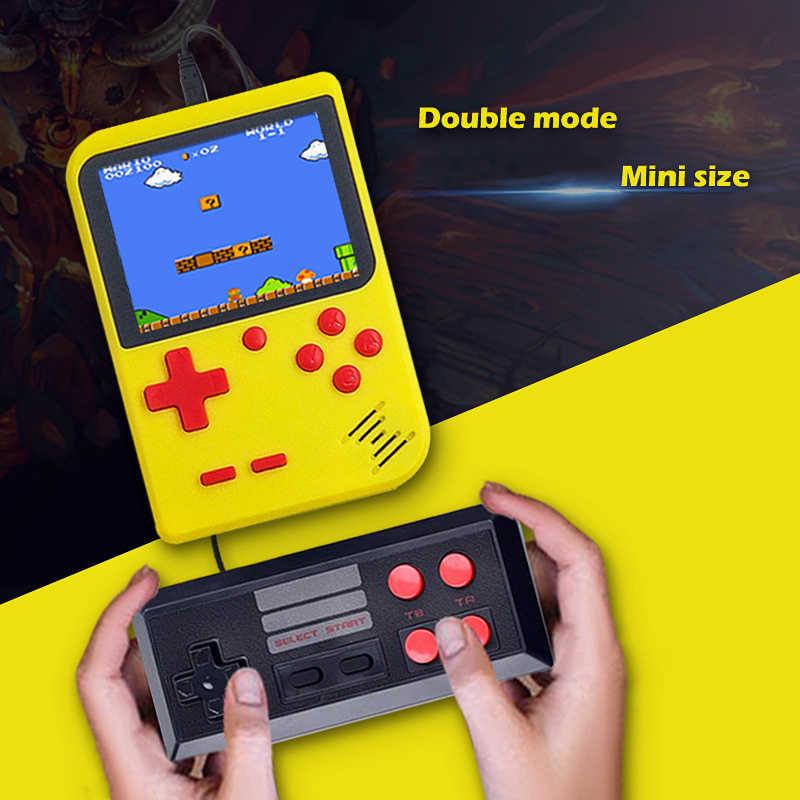 """Los más nuevos juegos 400 en 1 con batería de 1000 mAh consola de videojuegos de 8 bits 3,0 """"Pantalla LCD Retro reproductor de juegos de mano función de salida de TV"""