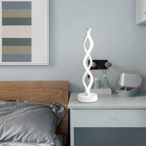 cabeceira minimalista acrilico aluminio lampada eua ue plug