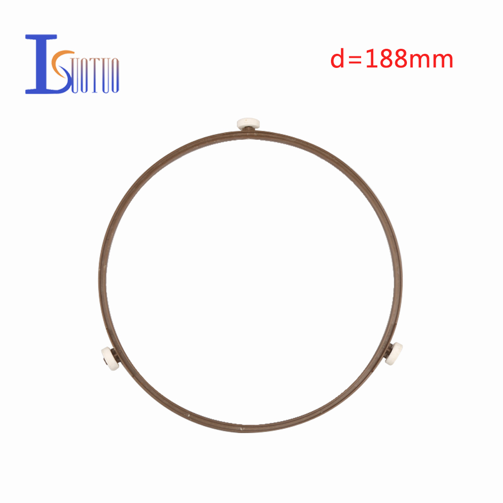 188mm outer diameter original Galanz microwave oven runner wheel bracket tray circle bracket microwave oven parts.