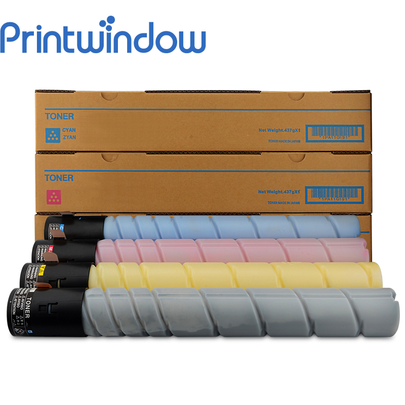 Printwindow Compatible Toner Cartridge for Konica Minolta Bizhub C227/287 4X/Set printwindow compatible toner cartridge for konica minolta bizhub c25 c35 4750en 4750dn 4750 4x set