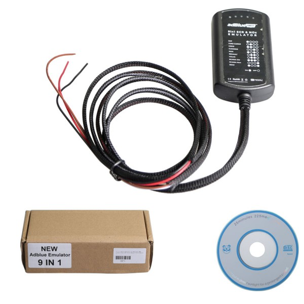 US $115 0 |5pcs a lot ADBLUE Emulator 9 IN 1 With NOX Sensor Emulator  Adblue 9 in 1 Universal Adblue Emulator Support Euro 4&5 Remove Tool -in  Car