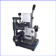 manual hot stamping machine, card hot stamping printing machine
