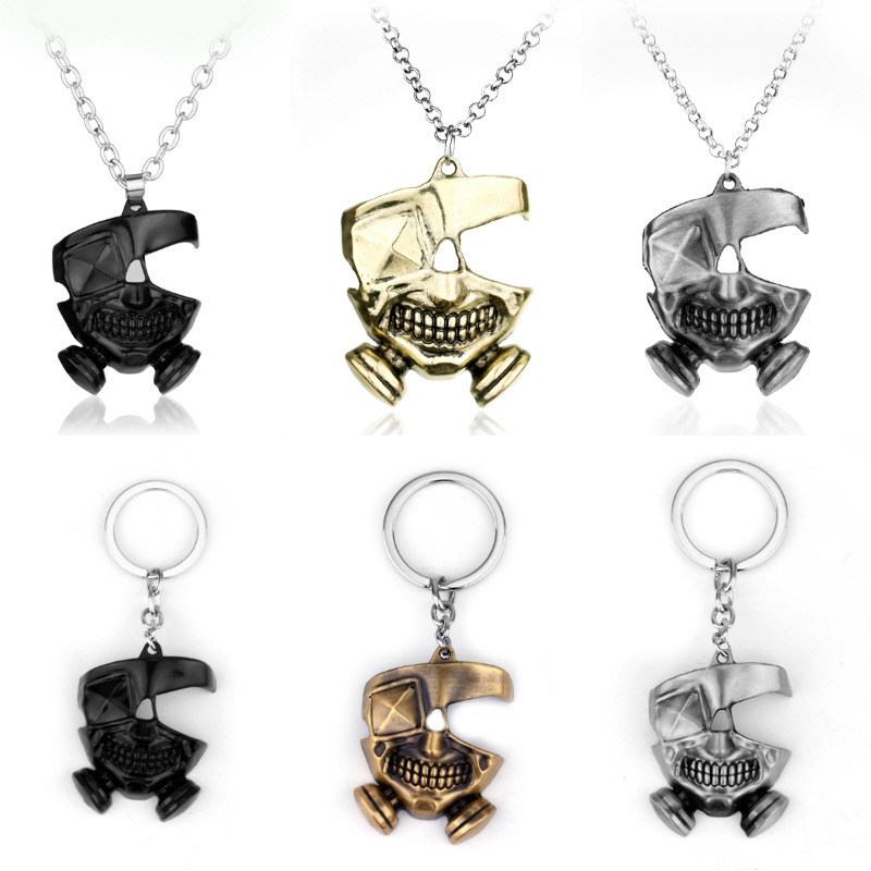 Tokyo Ghoul Keychain Necklaces Pendant