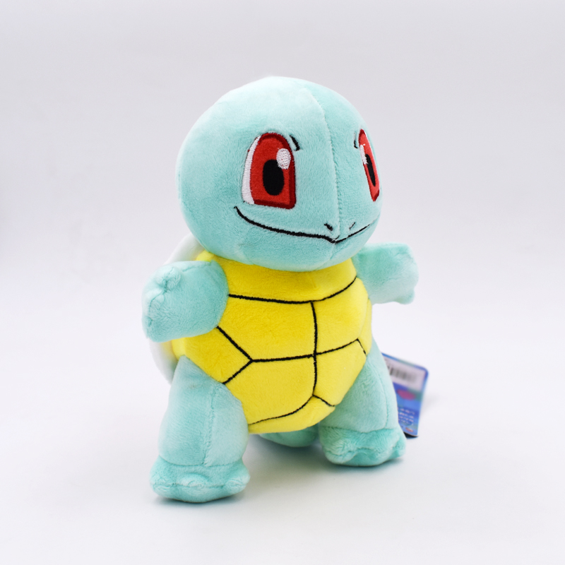 718cm Squirtle Peluche Toys Kawaii Standing Squirtle Plush Toys Cartoon Anime Dolls Baby Toy Gift For Kids Christmas