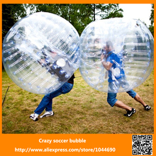 Promotion+Free shipping  ! ! !  0.8mm PVC inflatable adult body zorb/ body bumper ball, bumper ball