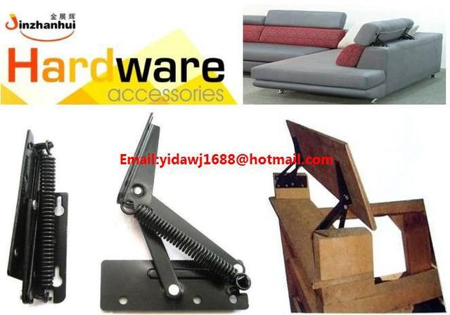 Metal sofa headrest hinge A22