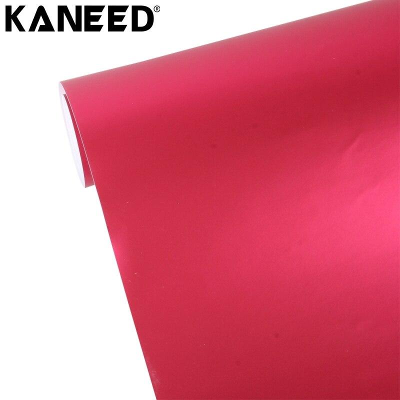 Autocollant de voiture KANEED décalcomanie de vinyle métallisé mat glace glacée voiture autocollant Wrap Auto emballage véhicule autocollant feuille teinte vinyle bulle d'air
