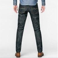 raw indigo selvage unwashed denim pants original design sanforised preshrink raw denim jean 14oz with linen