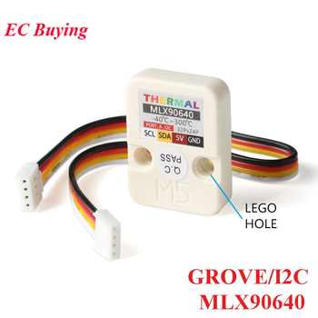 M5Stack Series Camera Module Infrared Thermal Imaging Sensor MLX90640 With GROVE/I2C Development Board 32x24P M5GO FIRE - DISCOUNT ITEM  8% OFF All Category