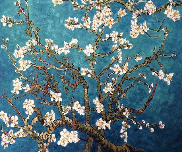 Vincent Van Gogh Hand painted Oil painting Canvas Reproduction art ...