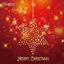 Yeele Christmas Wallpaper Bokeh Lights Glitters Photography Backdrops Personalized Photographic Backgrounds For Photo Studio