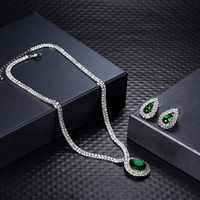Ann Snow Small Cute Jewelry Set For Women With 1 Pair Of Water Drop Stud Earrings