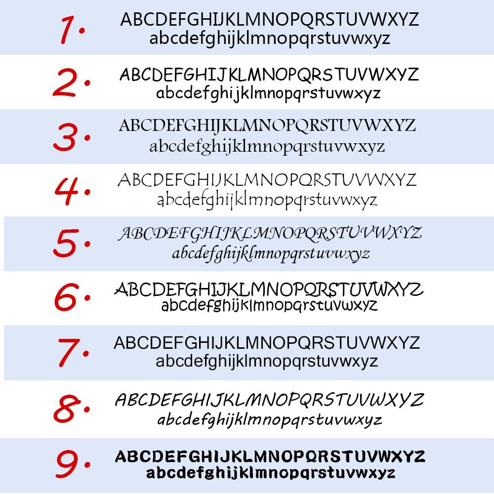 Купить с кэшбэком Fashion Girl Name Sticker Custom Stickers Waterproof Anti-Tearing School Stationery Personalized Label Cartoon Pattern Stickers