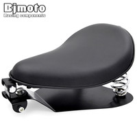 BJMOTO Motorcycle Solo Seat Baseplate Springs Driver Seat Pad Saddle Mounting Bracket For Harley Sportster 883 Bobber Chopper