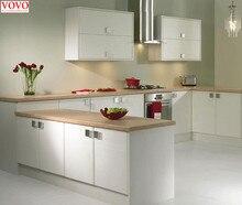 White melamine kitchen cabinet