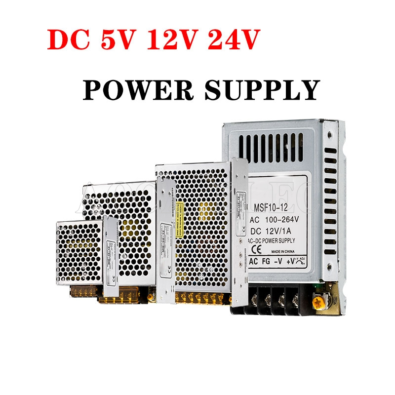 DC12V 13.8V 15V 18V 24V 27V 28V 30V 32V 36V 42V 48V 60V 150W 100W 120W 75W Switching Power Supply Source Transformer AC DC SMPS image