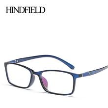 HINDFIELD классический TR90 оптический квадратная оправа для очков очки, очки в оправе Винтаж оправа для компьютерных очков Для женщин Oculos Gafas de sol