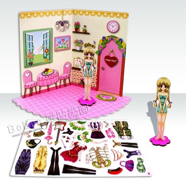 Bobea Happy Family Magnetic Dress Up Game living room children\'s ...