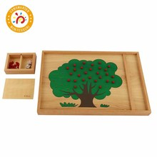 Wooden Material Toy Apple