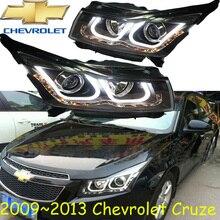 Cruz headlight 2009 2013 Fit for LHD RHD need add 200USD Free ship Jetta headlight 2ps