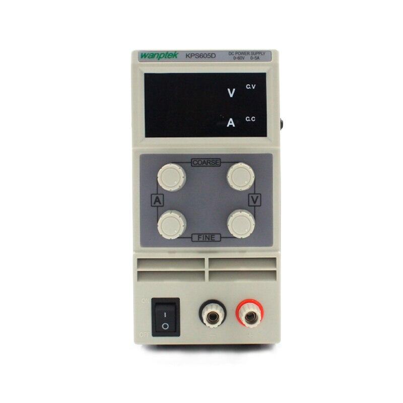DC labor netzteil KPS605D 60 v 5A Single phase einstellbare SMPS Digital spannung regler 0,1 v 0.01A mini power versorgung-in Schaltnetzteil aus Heimwerkerbedarf bei AliExpress - 11.11_Doppel-11Tag der Singles 1