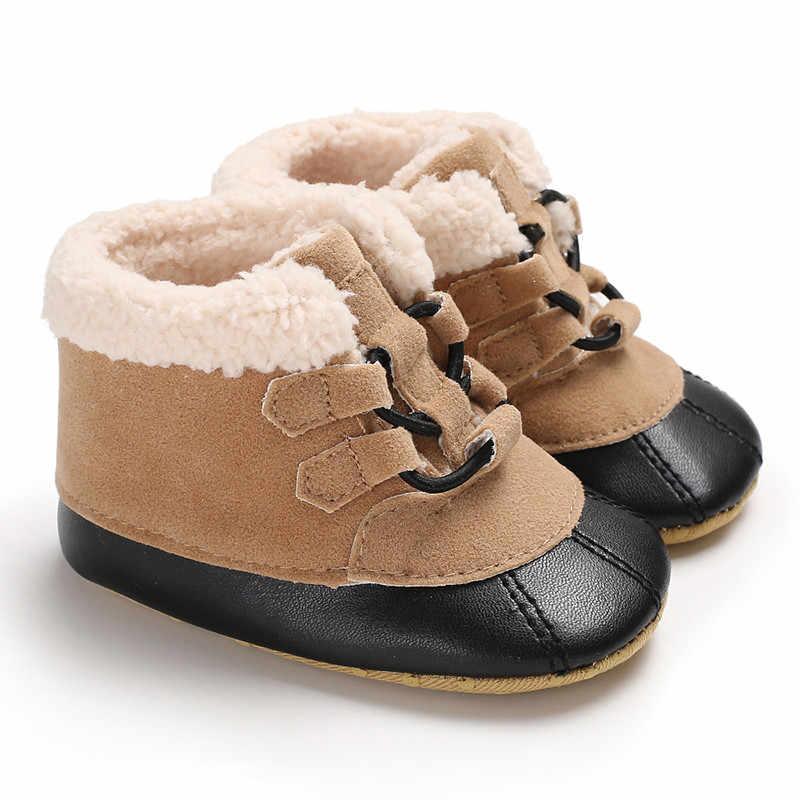 รองเท้าเด็กรองเท้าเด็กทารกเด็กทารกแรกเกิด Frenulum รองเท้าบูทฤดูหนาวรองเท้า Prewalker รองเท้าเด็กสาวรองเท้า