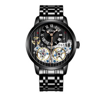 Double Tourbillon Switzerland Watches AILANG Original Men's Automatic Watch Self Wind Fashion Men Mechanical Wristwatch Leather