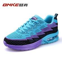 Onke 2017 Flywire Light Running Shoes for Women Gym Trainers Air Sole Women's Running Shoes feminino esportivo Women Sneakers