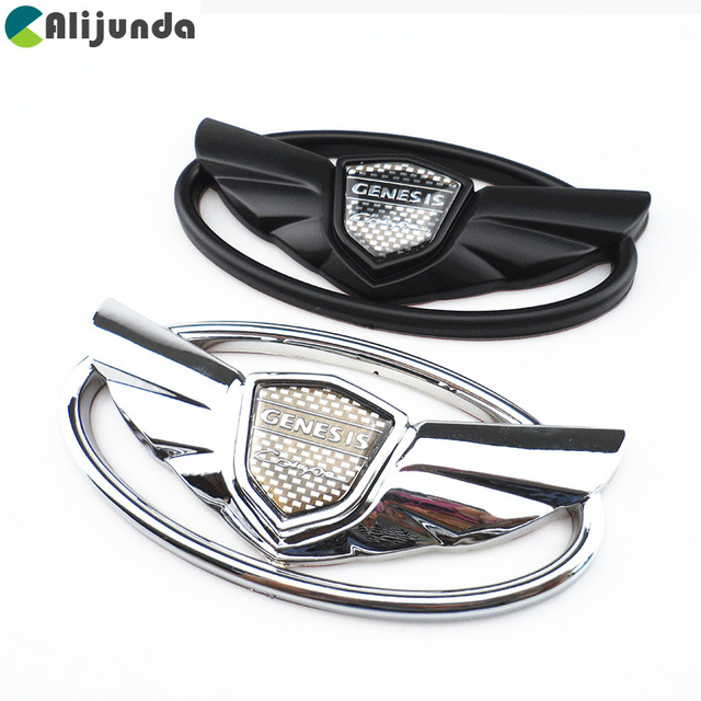 car styling accessories chrome emblem badge surface stickers for