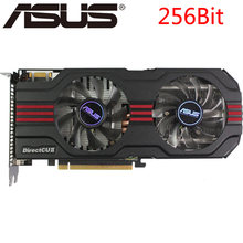 ASUS Video Card GTX 560 Ti 1GB 256Bit GDDR5 Graphics Cards for nVIDIA Geforce GTX560 ti Used VGA Cards stronger than GTX 750(China)