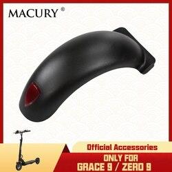 Przedni i tylny błotnik do Grace 9 Zero 9 Zero9 T9 elektryczny koło do skutera pokrywa Macury części zamienne|Części i akcesoria do hulajnogi|Sport i rozrywka -