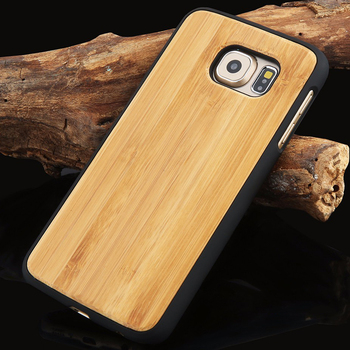 Genuine Wood Hard Protector Cover For Samsung Galaxy S8 S6 edge Plus Case Real Rosewood Bamboo Cherry Wooden Phone Cases wood