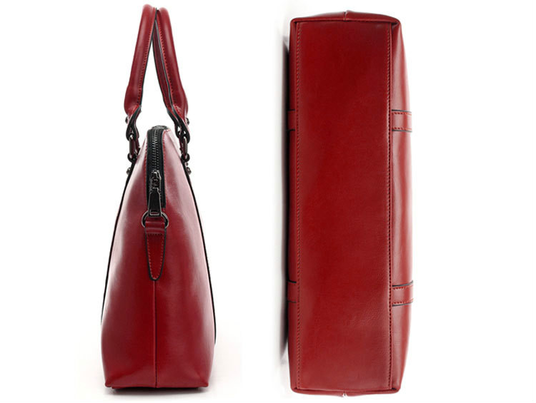 ee6278fd2a61 Laptop Tote Bag Computer Bags Women Handbag Purse for Formal Work Female  Manager Office Business Women Realer Leather Laptop Bag